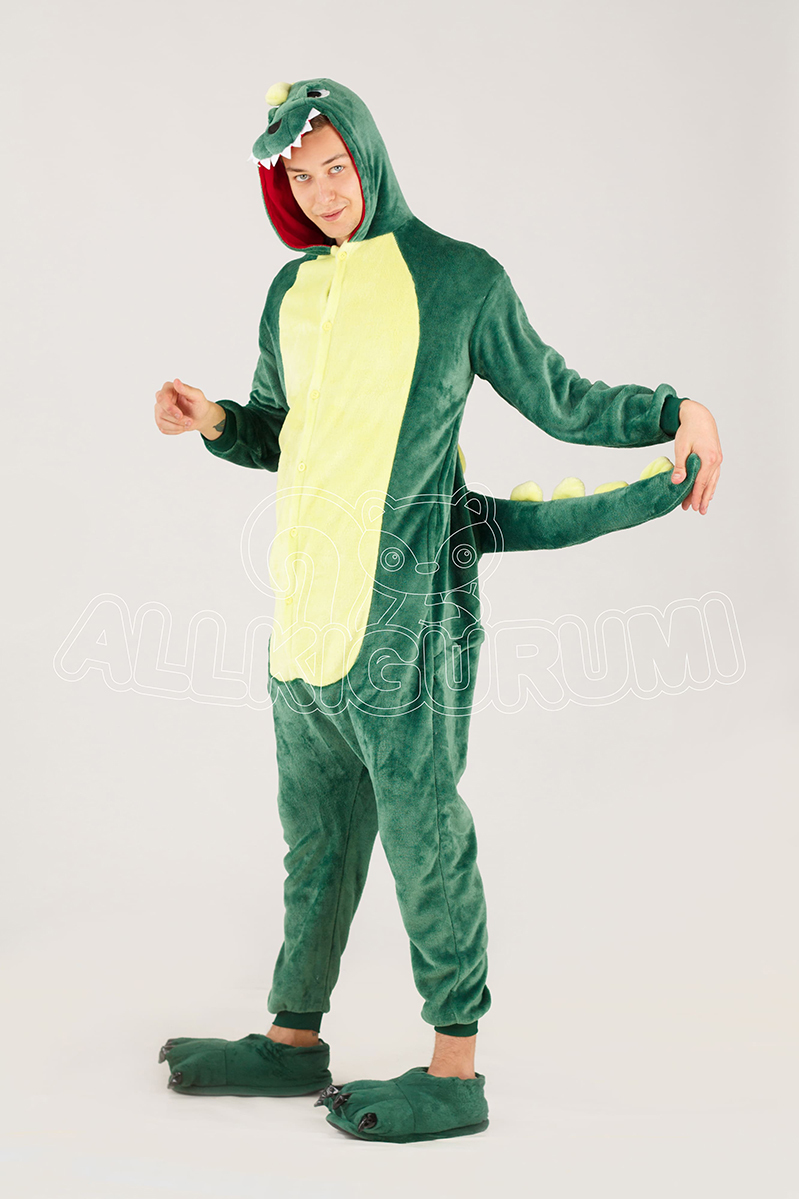 Обзор на пижаму кигуруми Динозавр