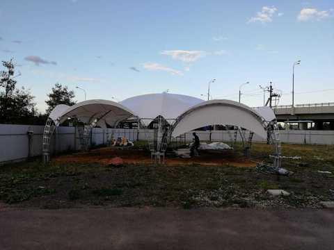 Арочный шатер 12х12