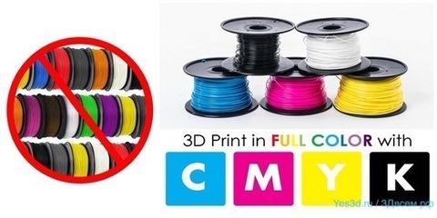 Компания ORD Solutions анонсировала цветной микширующий 3D-принтер RoVa4D