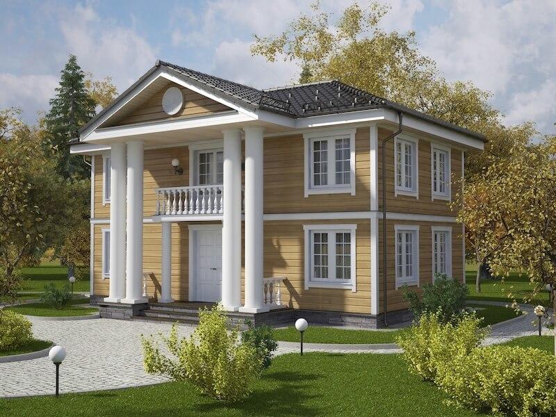 Архитектура частных загородных домов