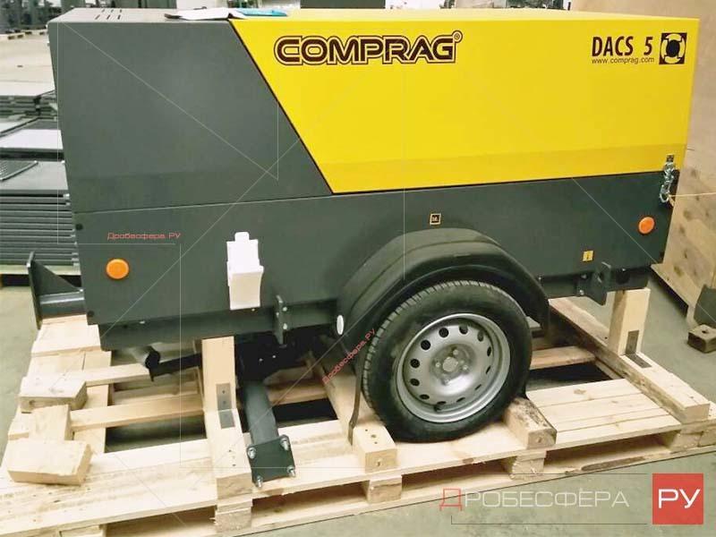 Отгрузка дизельных компрессоров Comprag DACS
