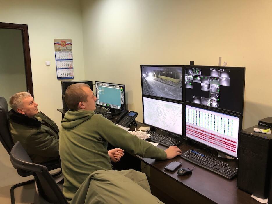 Видеонаблюдение «Романовского Парка» подключено к центральной диспетчерской