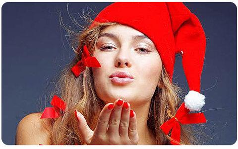 Новогодний макияж для встречи 2014 Нового года Синей Деревянной Лошади