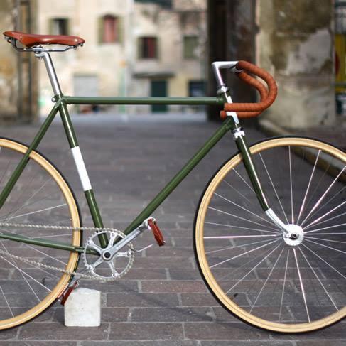 Хипстерские велосипеды типа Fixed Gear