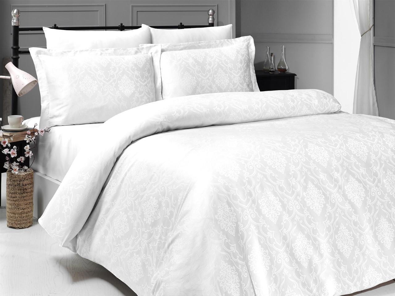 Как сохранить цвет белоснежного постельного белья