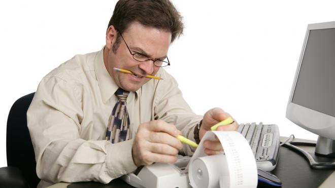 Методы контроля работы бухгалтера