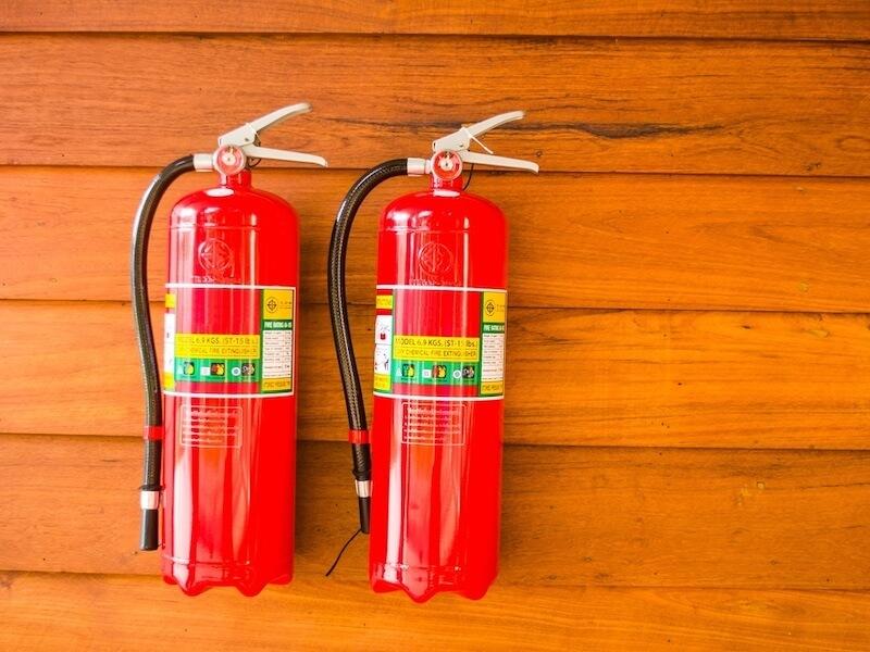 Пожарная безопасность загородных домов