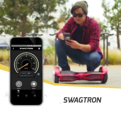 Как подключить гироскутер Swagtron к смартфону