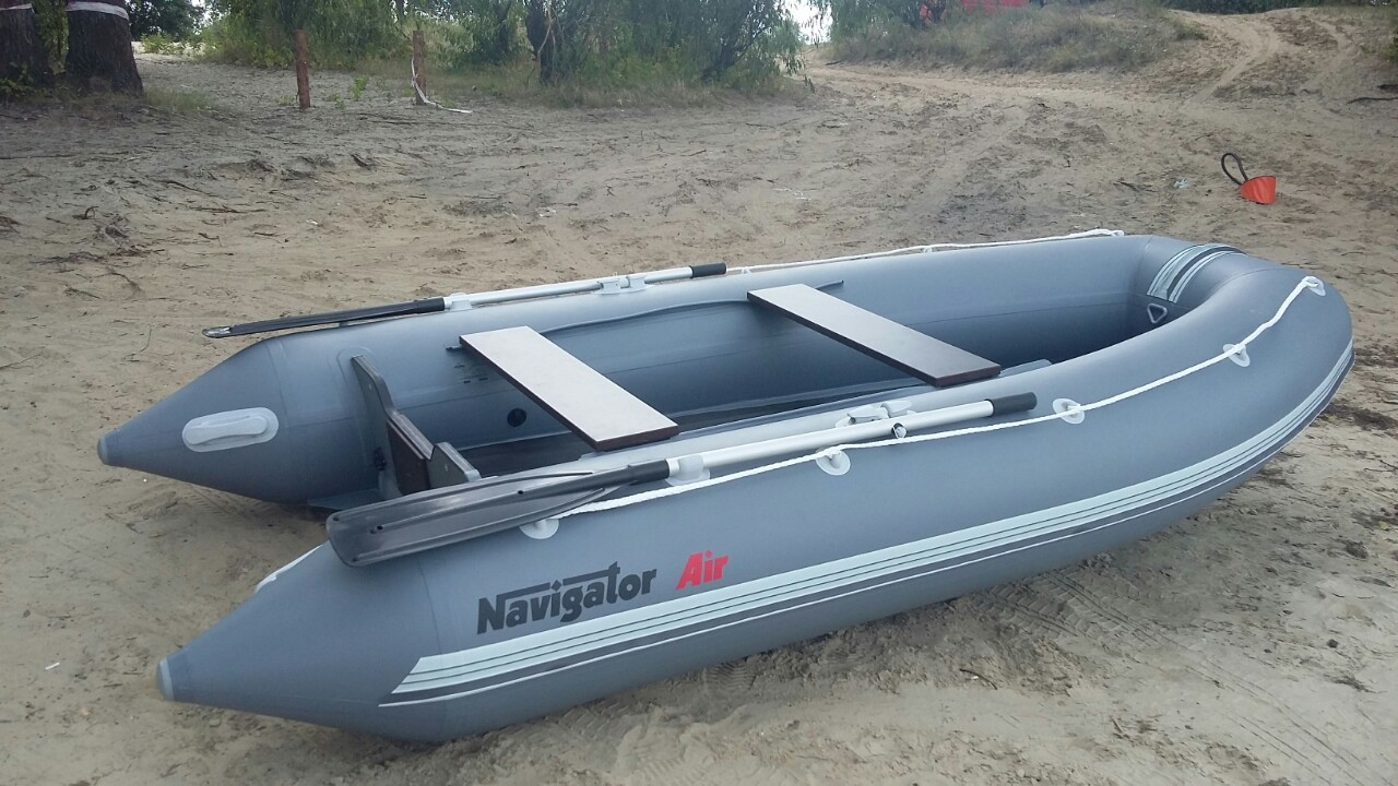 Как накачать лодку?