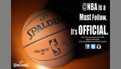 Знак @NBA появится на мяче Spalding в игровом сезоне NBA 2014-2015 года
