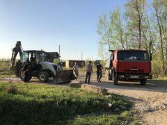 Начаты работы по ремонту подъездной дороги к «Романовскому Парку»