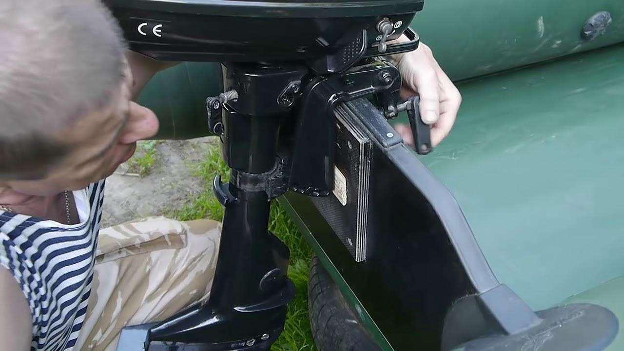 Как сделать лодочный мотор своими руками?