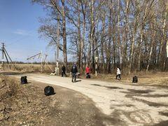В «Романовском Парке» прошел субботник