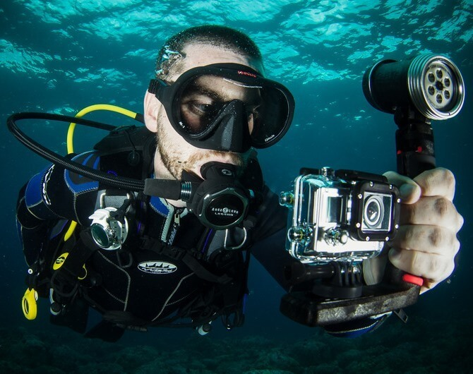 GoPro для дайвинга