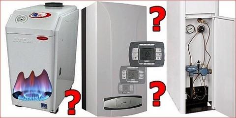Выбор котла для отопления частного дома.