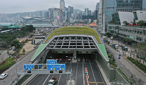 Недавно запущенный тоннельный очиститель воздуха – сломался, сообщила пресса Гонконга