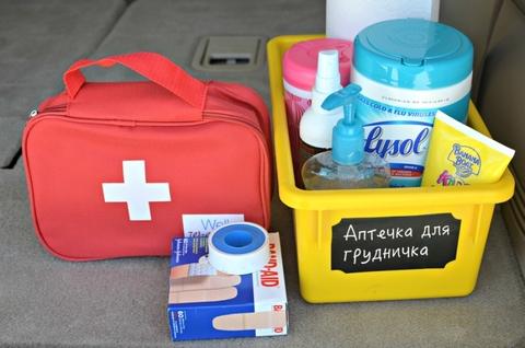 Аптечка для новорожденного — что важно знать