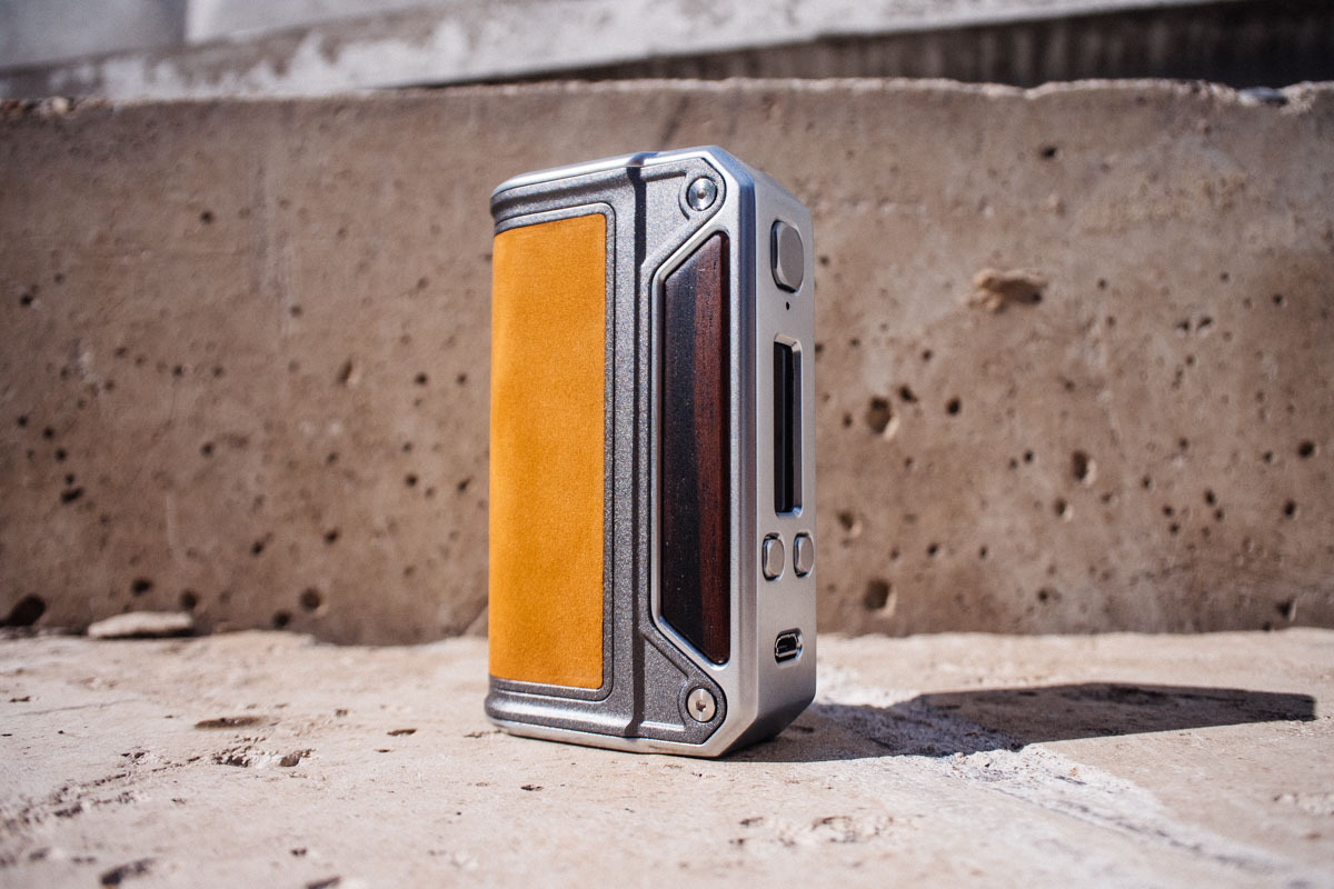 Therion DNA 75 от Lost Vape – Like a boss!