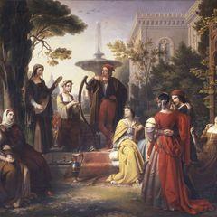 Итальянский винный Декамерон
