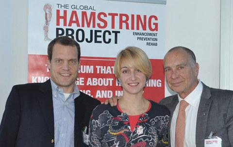 Мария Бурова из Локомеда посетила Второй глобальный NHANCE Hamstring Project