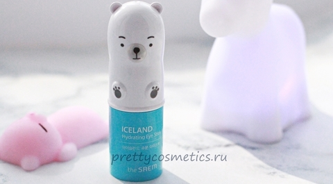 Корейский увлажняющий стик The Saem Iceland Hydrating Eye Stick