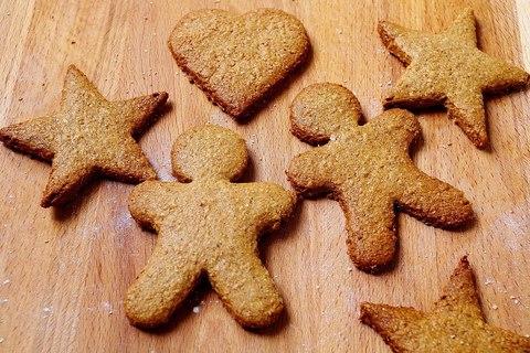 Имбирное цельнозерновое печенье Pepparkakor