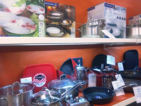 Открылась выставка-продажа посуды