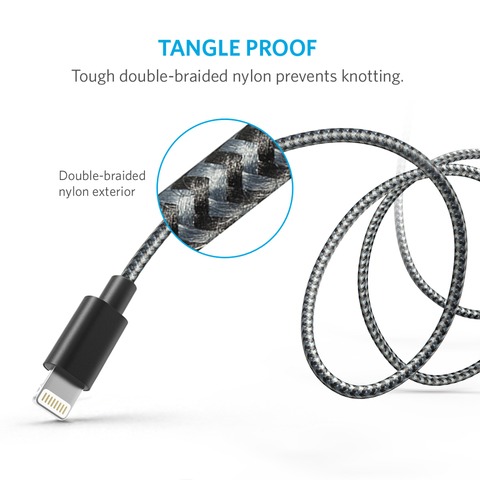Обзор Anker Nylon-Braided Lightning to USB Cable