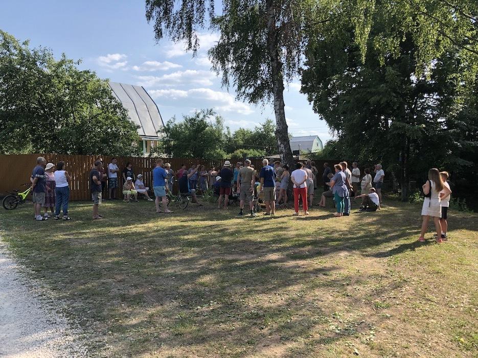 СНТ «Березка» примет участие в благоустройстве подъездной дороги