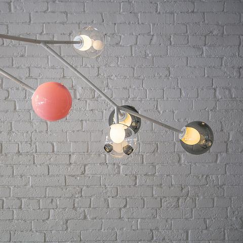 Конструктивные элементы: модульные системы Armature и Stem для светильников Bocci