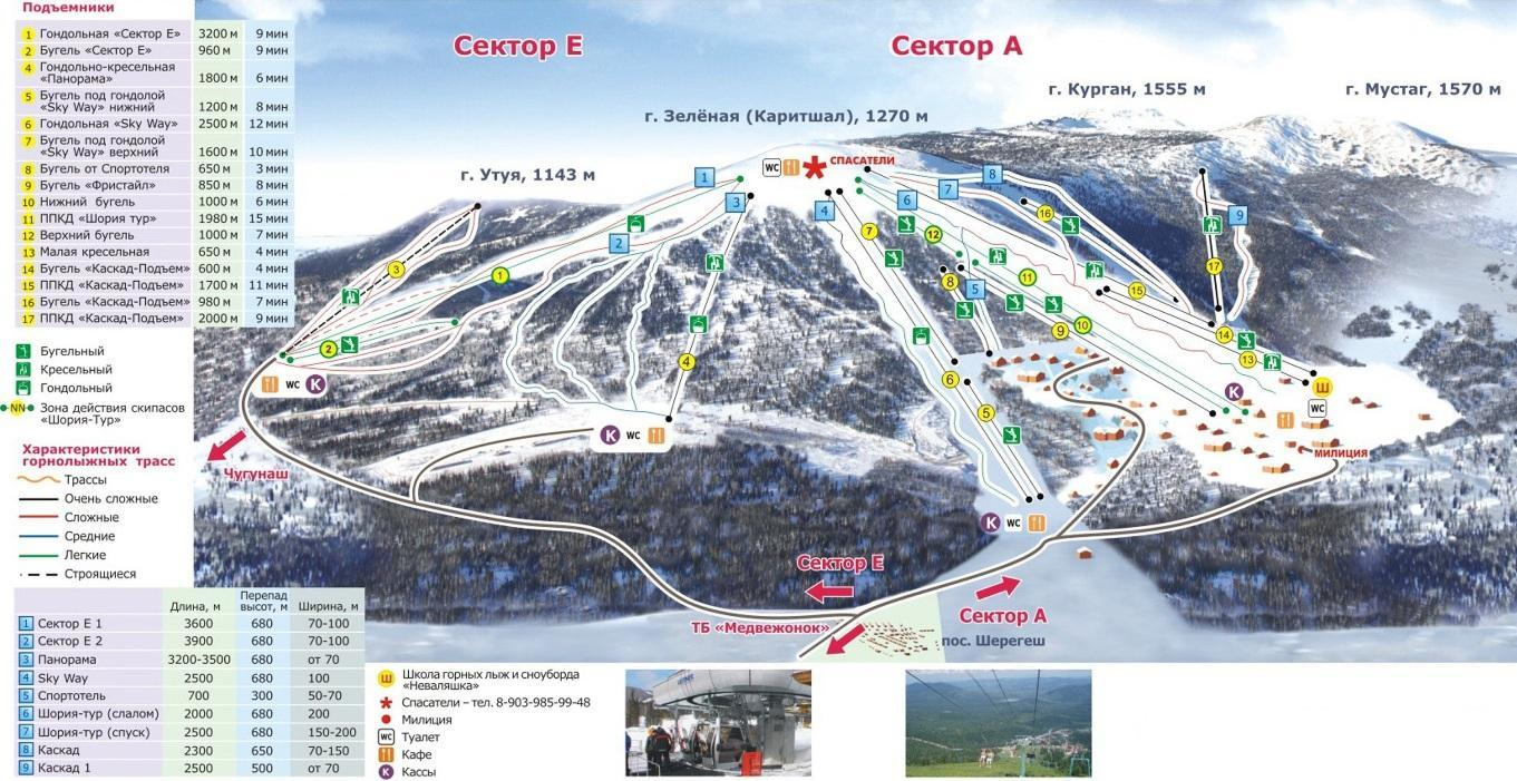 Автопутешествия по России. Шерегеш – самый популярный горнолыжный курорт Сибири