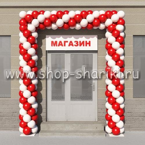 Арка из шаров в shop-shariki.ru