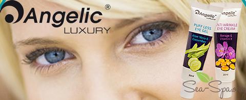 ВИДЕО Обзор сразу 2-ух продуктов от Angelic Luxury для деликатного ухода за кожей вокруг глаз.