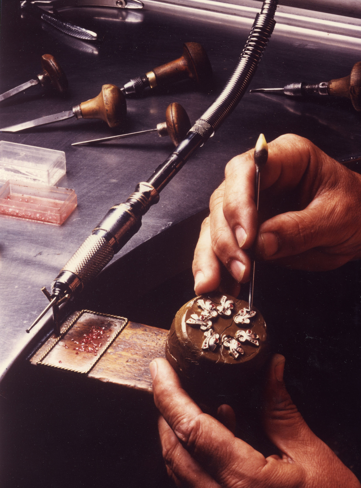 START OF THE CREATION OF PIECES OF SILVER