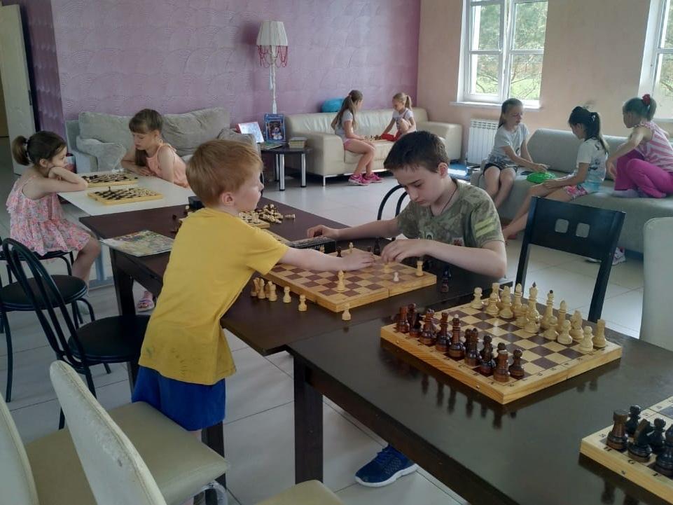 Шахматный клуб в «Романовском Парке»