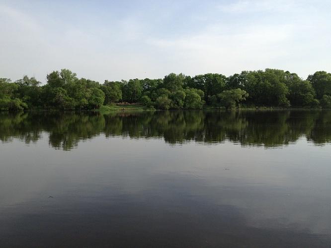 Рыбалка на Кие