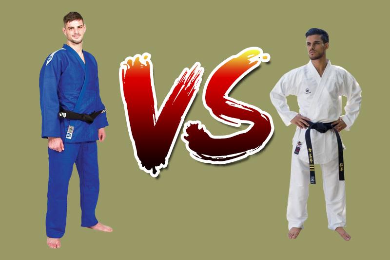 Кимоно для дзюдо и карате. Отличия
