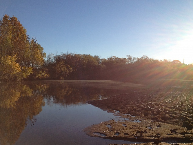 Осенняя рыбалка на Подхоренке