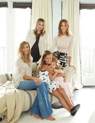 Детская в доме Джессики Альбы: мебель Emily + Meritt для PBteen