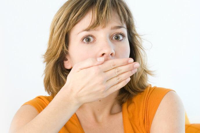 Как избавиться от запаха изо рта. Рецепт.