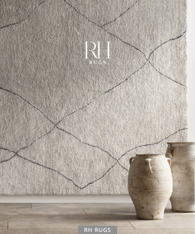 Каталог Restoration Hardware Rugs