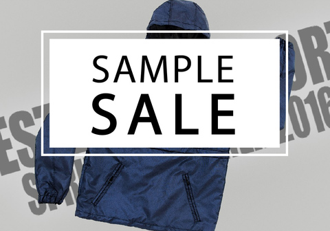 SAMPLE SALE 13.08