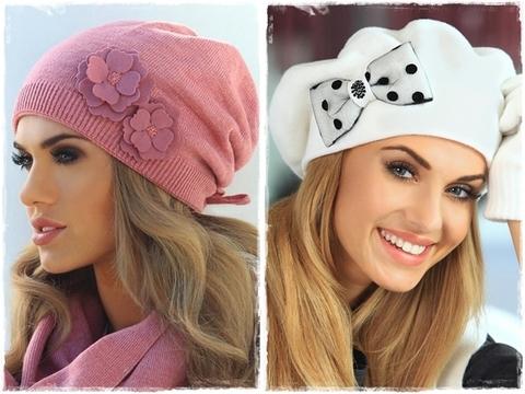 Новая коллекция 2014-2015 женских шапок от KAMEA