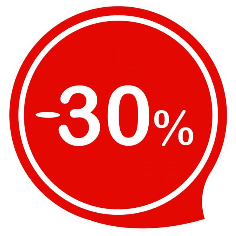 СКИДКА -30% ПРИ ЗАКАЗЕ ОТ 2000Р