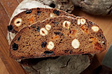 100% ржаной десертный хлеб на закваске
