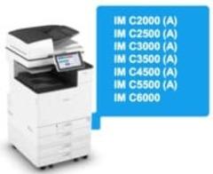Запуск Интеллектуальных МФУ Ricoh IM C2000 (A) – IM C6000