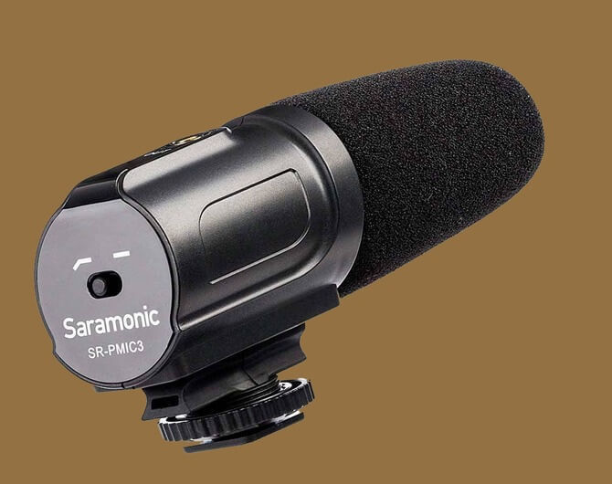 Микрофон-пушка Saramonic SR-PMIC3 Surround