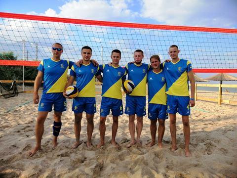 Волейбольная команда Бердянска