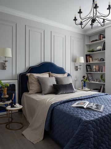Идеальная двухкомнатная квартира в парижском стиле