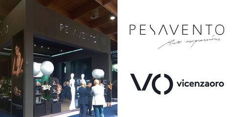 Pesavento на международной ювелирной выставке VicenzaOro 2019